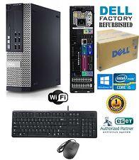 Dell Optiplex DESKTOP Intel i5 2400 Quad 3.1GHz 8GB 120gb SSD Windows 10 HP 64