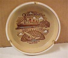 Cruise Ship-Queen Mary-Long Beach, CA Souvenir Ash Tray  -11231