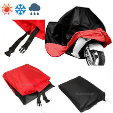 XXL Red Motorcycle Cover For Harley-Davidson FLHR Road King FLHX Street Glide