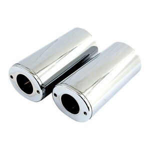 Stand Pipe Covering, Fork Cover Chrome, Standard for Harley - Davidson