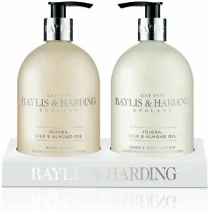 Baylis & Harding Jojoba, Vanilla and Almond Oil Hand Wash and Lotion Set