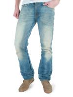 Nudie Herren Regular Slim Straight Fit Jeans Hose - Slim Jim Crispy Worn in