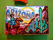 Christopher Radko Arizona Desert Post Glass Ornament