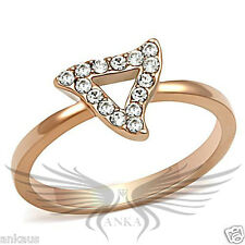 Triangle Top G 000025B3 rade Crystal Cocktail Engagement Ring 4 5 6 7 8 9 10 Gl130 *