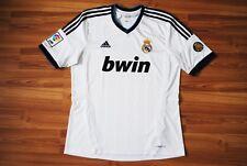 SIZE L REAL MADRID 2012 2013 ADIDAS HOME FOOTBALL SOCCER SHIRT JERSEY CAMISETA