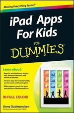 iPad Apps For Kids For Dummies, Gudmundsen, Jinny, Good Condition, Book