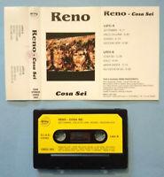 MC Musicassetta RENO RASCIONATO Cosa Sei italy pop 1992 no lp cd dvd vhs