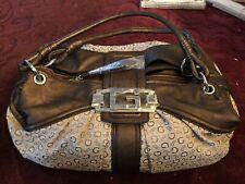 Guess Handbag Traditional G Shoulder Bag Satchel Travel Overnight Lap Top New