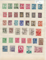 Bulgaria Stamps on 2 Pages Ref: R6876