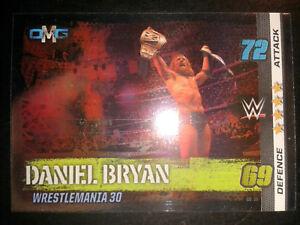 Slam Attax 10 WWE WWF OMG-Card Nr.55 Daniel Bryan Sammelkarte Trading Card
