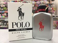 POLO RED RUSH by RALPH LAUREN 4.2 oz / 125 ml EDT Spray New Box NEW 2018
