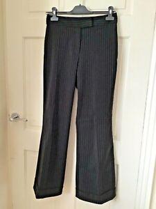 Vintage Pinstripe Bootcut Trouser Size 8
