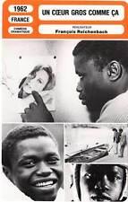 FICHE CINEMA : UN COEUR GROS COMME CA - Faye,Belmondo,Reichenbach1962 The Winner