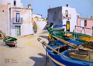 Aldo Riso serigrafia  cm.35x25