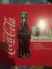 Coco Cola Retro Diner Coke Gift Set American Style New Boxed Uk