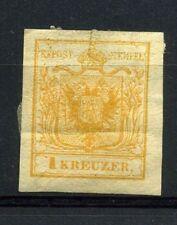 Antichi Stati Lombardo Veneto Austria 1kr. nuovo difettoso
