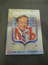 1989 Denver Broncos vs. Kansas City Chiefs program Pete Rozelle