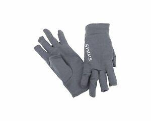 Simms Fishing ProDry 3 Finger Merino Wool Glove Liner - Men's M or XL Gloves NEW