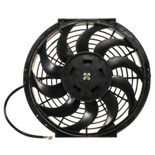 "Slim Universal 12"" 80W Engine Radiator Oil Cooling Electric Pull Push Fan Blades"