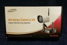 New in Box, Samsung SEB-1004RW Wireless Camera Kit/Video Monitoring System IP65