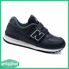 Scarpa New Balance 574 junior con velcro sneakers tempo libero scuola e sport