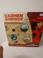 Carmen San Diego Acme's Most Wanted Board Game