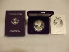 1990-S Proof American Silver Eagle Coin  - One Troy oz .999 Bullion