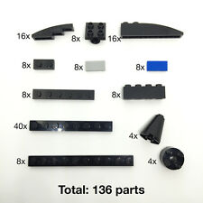 Lego Bricks, Plates & Tiles - New Genuine 136 Parts In Total