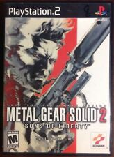 Metal Gear Solid 2 Sons of Liberty 2001 PlayStation 2 ElectronicsRecycled.com
