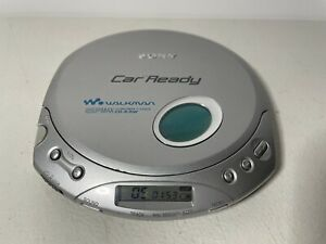 SONY DISCMAN CAR READY ESP Max Portable CD R/Rw Walkman Player D-E356CK WORKS!