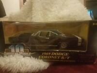 1969 Dodge Coronet R/T American Muscle, Ertl collectibles