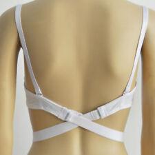 Low Back Backless Bra Strap Adapter Converter Adjustable Dress Extender Hook