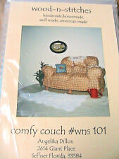 Comfy Couch for cloth + other doll~Angelika Dillon Sofa pattern Rare 1997