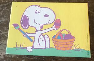 "Hallmark Springbok Snoopy EASTER BEAGLE 20 PIECES Jigsaw Puzzle EUC 4.5""x6.75"""