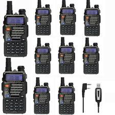 10x New Baofeng *UV-5R+ Plus*  V/UHF 136-174/400-520MHz Ham Handheld 2-way Radio
