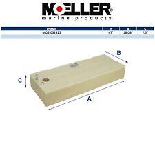 Moeller 32525 25 Gallon Below Deck Permanent Marine Fuel Tank