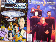2 Comics de Star Trek ( Nueva Generación y Próxima Generación)
