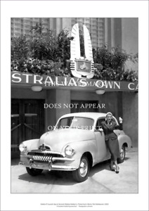 """Holden FJ Special A3 Print – Launch Day 1953 – Poster 59 x 42 cm 23"""" x 17"""""""