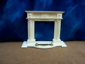 dollshouse washington fireplace mantel 1/12 scale lovely detail fire surround