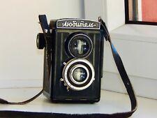 RARE 1950 LOMO First EDITION Lubitel Medium Format Soviet TLR film Camera EXC