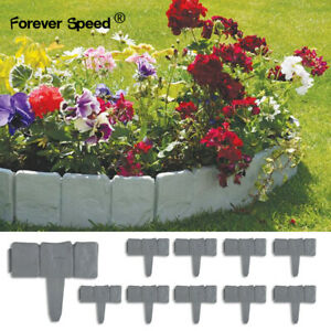 Beetumrandung Beeteinfassung Rasenkante Gartenpalisade 2.5 m Landschaftsbau