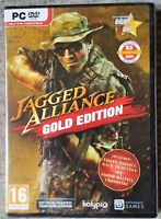 JAGGED ALLIANCE GOLD EDITION PC DVD-ROM SHOOTER GAME UK brand new & sealed!