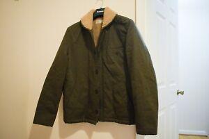 Universal Works N-1 Deck Jacket Olive Green Large