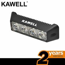 KAWELL 12W LED Flood Beam 60 Degree Off Road Lamp Waterproof Work Car Light Bar