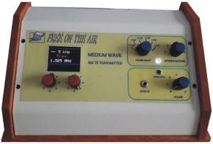 Transmisor AM Broadcast Transmitter MW Semiprofesional DDS 5W - 15W