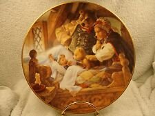 "Knowles Fairy Tale ""Goldilocks and the Three Bears"" Collector Plate w/ COA"