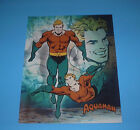 DC COMICS DC UNIVERSE JUSTICE LEAGUE OF AMERICA AQUAMAN POSTER PIN UP