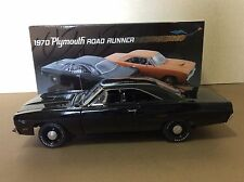 "GMP 1:18 1970 PLYMOUTH ROAD RUNNER (BLACK) ""1 BAD BIRD"""
