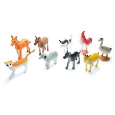 12 Mini Farm Animal Figures Goodie Loot Pinata Party Bag Fillers Favour Gift