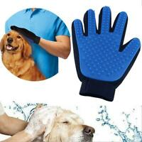 TrueTouch Style Deshedding Brush Glove Grooming Hair Removal Pet Dog Cat Massage